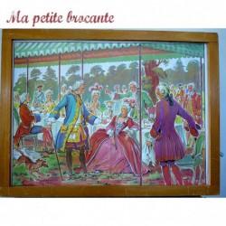 LAMPE DE TABLE VINTAGE PIED EN CERAMIQUE ORANGE PUR DESIGN ANNEES 70