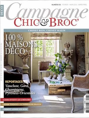 Vu dans la presse ma petite brocante - Maison chic magazine ...