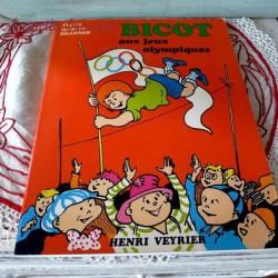 Bicot aux jeux Olympiques Martin Branner Editions Henri Veyrier de 1980. Couverture