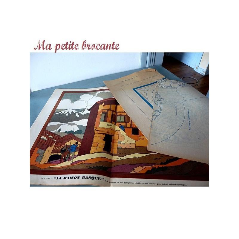 L'artisan pratique l'art de décorer son foyer n° 275 mai 1932
