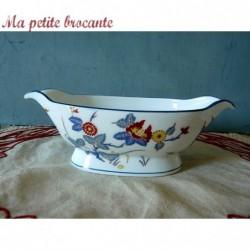 Saucière Ch. Field Haviland Limoges modèle Chantilly