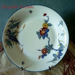 Assiette calotte de  Charles Field Haviland Limoges modèle Chantilly