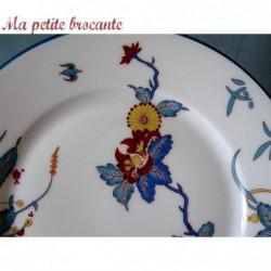 Assiette dessert de  Charles Field Haviland Limoges modèle Chantilly