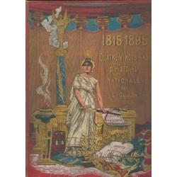 1815-1895 Quatre-vingts ans d'histoire Nationale par E. GUILLON