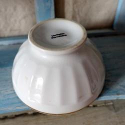 Petit bol ancien en porcelaine scène galante