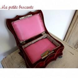 Adorable coffret à bijoux et musique napoléon III