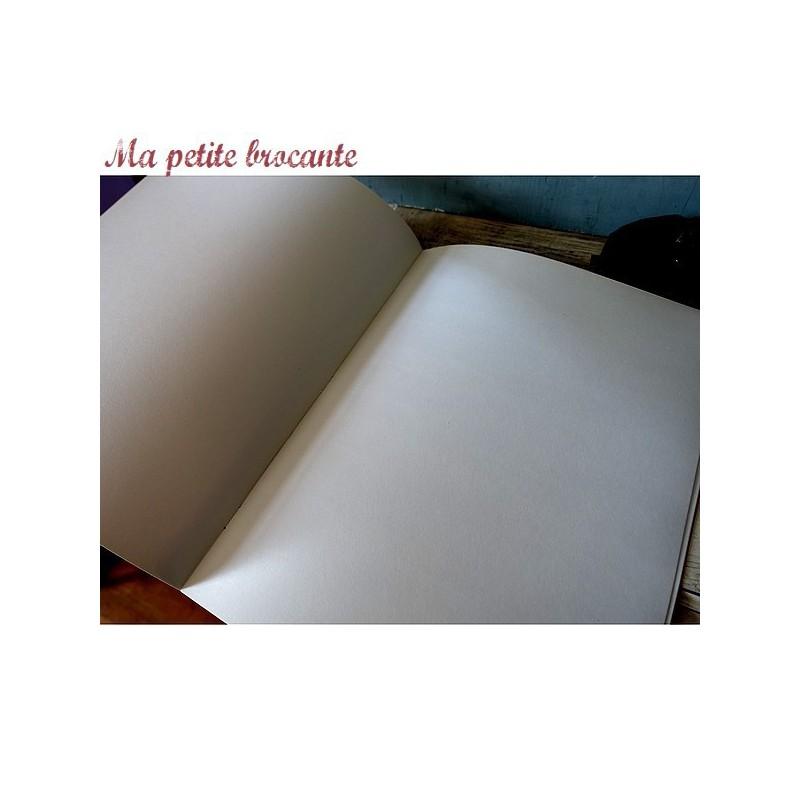 Ancien cahier écolier dessin grand format le Conquérant n° 553