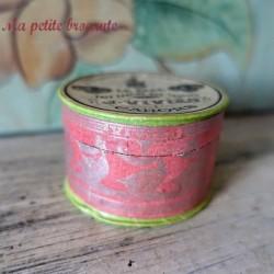 Boîte ancienne Le bébé pâté tartiné aux truffes J. VIVIES Cahors