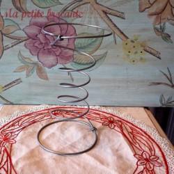 Ressort ancien de tapissier pour fauteuil lit déco