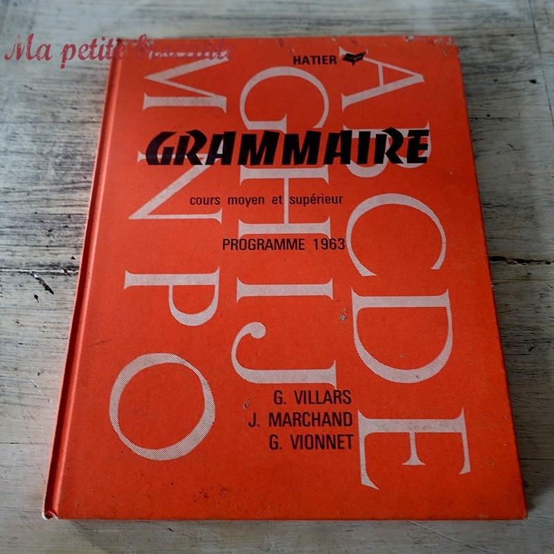 Grammaire CM1 CM2 VILLARS MARCHAND VIONNET HATIER