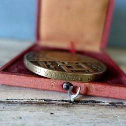 Belle médaille bronze R. Cochet  journalisme du doyen Benjamin Lassus