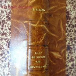 L'art de soigner les oeuvres d'art d'Emile Bayard Editeur Grund