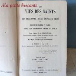 Les vies des saints des diocèses de Cambrai et d'Arras tome deuxième 1868