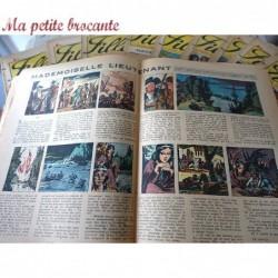 Lot de onze  revues Fillette janvier février mars 1948
