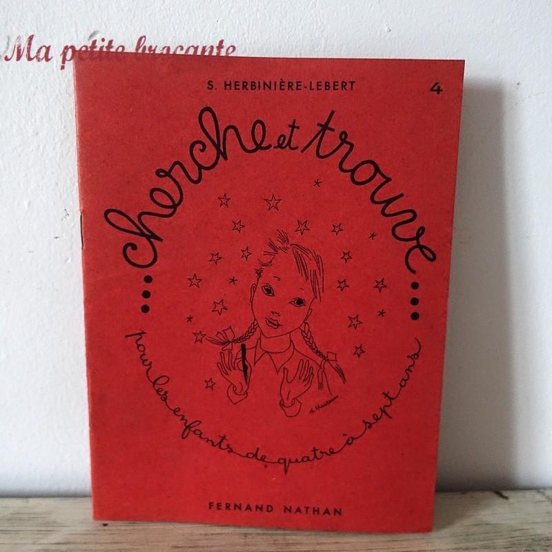 Cherche et trouve exercices graphiques n° 4 S. Herbinière-Lebert