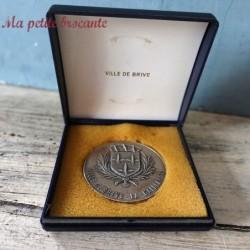 Belle médaille ville de Brive la Gaillarde Corrèze