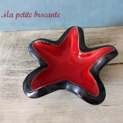 Coupe en forme d'étoile de mer dans le goût d'Elchinger