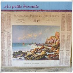 Almanach des postes et des télégraphes 1942 Pointe du Toulinguet Finistère