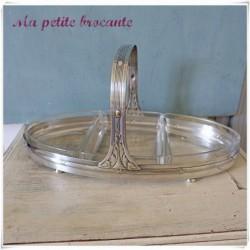 Serviteur en métal argenté poinçon WMF style Louis XVI