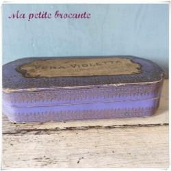 Ancie boite savon Vera-Violetta Roger & Gallet Paris