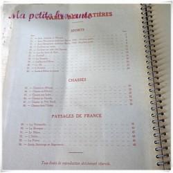 Bel album Nestlé 1938-1939 Sports Chasses Paysages