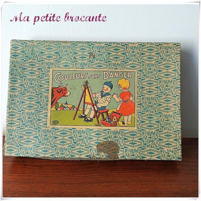 Boîte de jeu Couleurs sans danger GB & Cie Atlas Paris Unis France