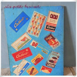 Voyage autour du monde Jojo et Louisette Amérique chocolat Casino