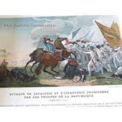 VICTOIRES ET CONQUETES DES ARMEES FRANCAISES ALBUM MILITAIRE PARIS BOUSSOD VALADON & CIE