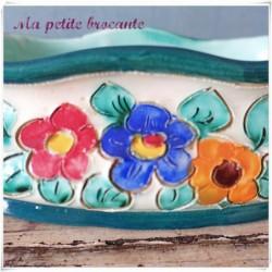 Belle jardinière en Vallauris signature à identifier