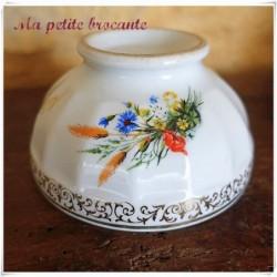 Bol vintage en porcelaine de Limoges personnalisé Aline