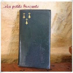 Ancien petit carnet et chapelet Messes et vêpres Roux - Marchet & Cie