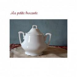 Ancien sucrier en porcelaine de Limoges