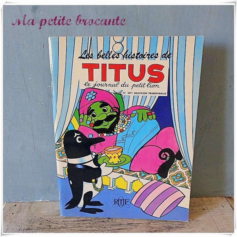 Les belles histoires de Titus le journal du petit lion n° 20bis