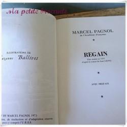 Angèle Naïs et Regain de Marcel Pagnol éditions Pastorelly
