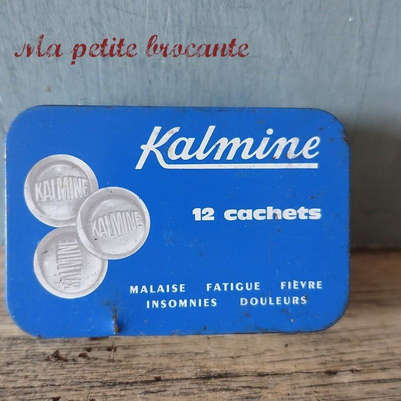 Ancienne boîte pharmaceutique de  Kalmine de Paul Métadier