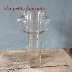 Ancienne verrerie de laboratoire chimie vase