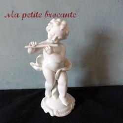 Porcelaine Gerold Germany chérubin musicien joueur de flûte