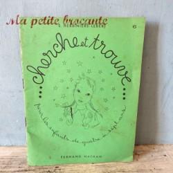 Cahier d'exercices cherche et trouve exercices graphiques n° 6 S. Herbinière-Lebert