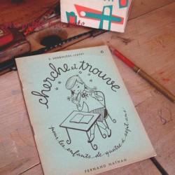 Cherche et trouve exercices graphiques n° 6 S. Herbinière-Lebert