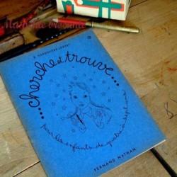 Cahier d'exercices graphiques Cherche et trouve  n° 3 S. Herbinière-Lebert