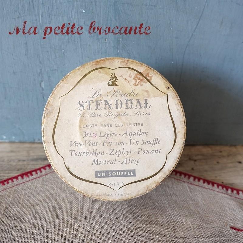 Belle boîte boîte à poudre Stendhal Un souffle