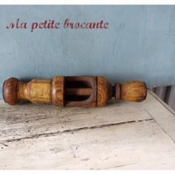 Bouchonneuse manuelle en bois pour bouteilles
