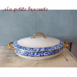 Légumier ancien en porcelaine de Ch. Pillivuyt & Cie Paris