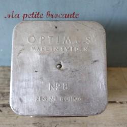 Réchaud ancien à essence marque Optimus n°8