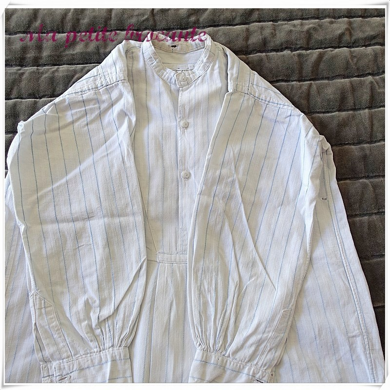 Chemise ancienne de grand-père pour enfant