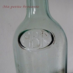 Bouteille ancienne MBR Anisette Marie Brisard