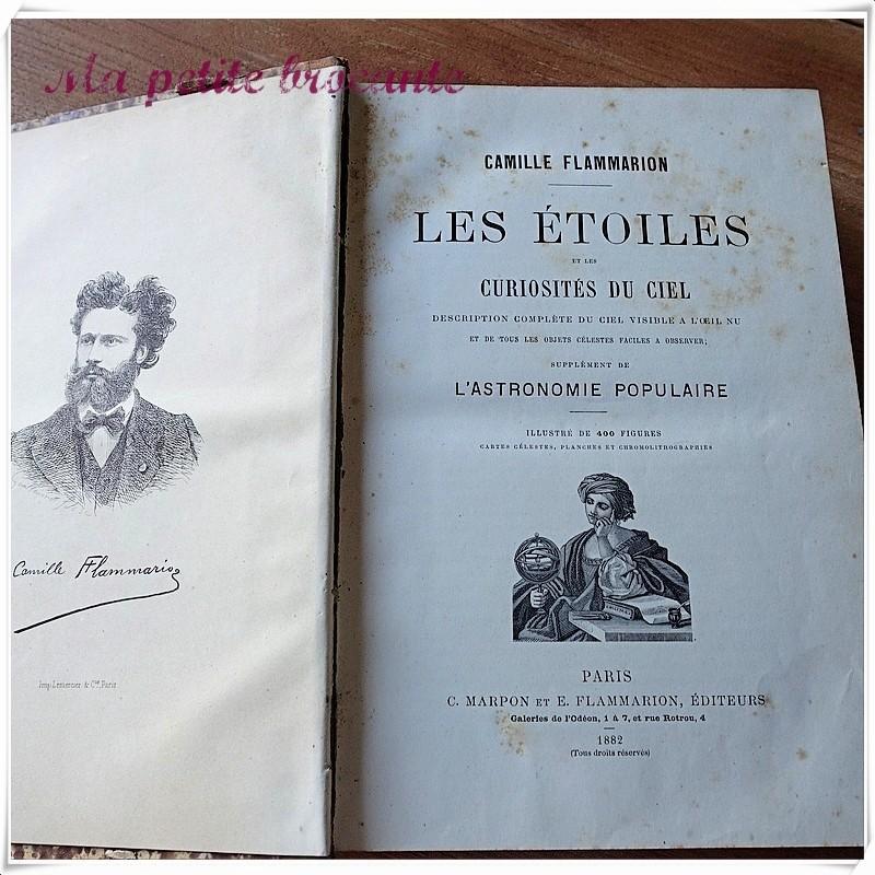 Les étoiles et les curiosités du ciel de Camille Flammarion - 1882