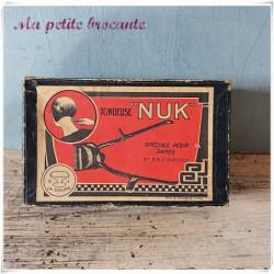 Tondeuse NUK spéciale pour dames n°33/00000 et rasoir