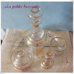 Service de nuit en cristal de Baccarat 5 pièces