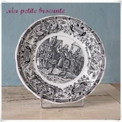 Assiette parlante série honneur gloire patrie Jeanne d'arc à Orléans